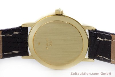 BAUME & MERCIER LADY 18K (0,750) RONDE GOLD DAMENUHR VP: 6300,- EURO [153317]