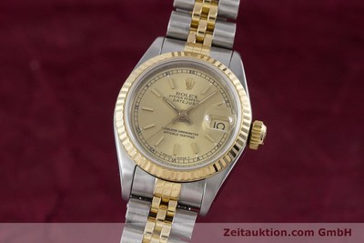 ROLEX LADY DATEJUST STEEL / GOLD AUTOMATIC KAL. 2135 LP: 6950EUR [153321]