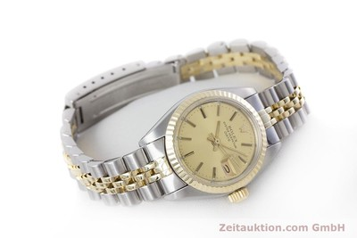 ROLEX LADY DATE STEEL / GOLD AUTOMATIC KAL. 2030 LP: 6950EUR [153326]