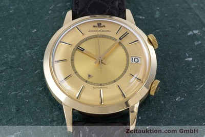 JAEGER LE COULTRE MEMOVOX STEEL / GOLD AUTOMATIC KAL. 825 [153343]