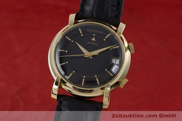 JAEGER LE COULTRE MEMOVOX 18 CT GOLD MANUAL WINDING KAL. 911 LP: 20700EUR VINTAGE [153349]
