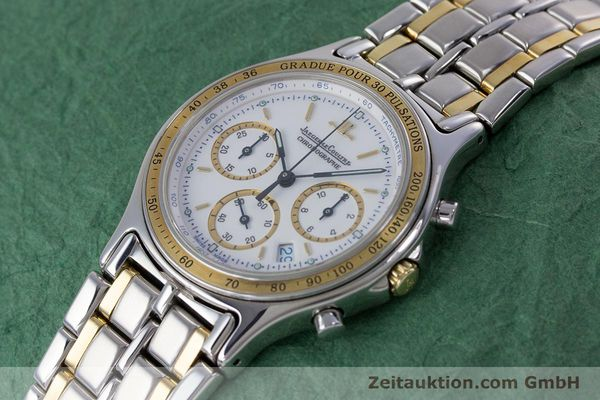Used luxury watch Jaeger Le Coultre Heraion chronograph steel / gold quartz Kal. 630 Ref. 115.5.31  | 153358 01
