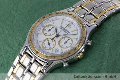 JAEGER LE COULTRE HERAION CHRONOGRAPH STEEL / GOLD QUARTZ KAL. 630 [153358]