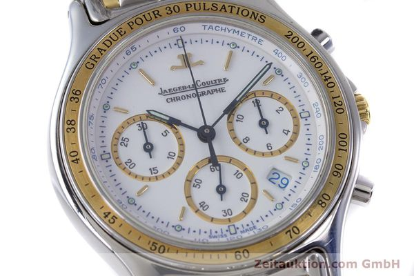 Used luxury watch Jaeger Le Coultre Heraion chronograph steel / gold quartz Kal. 630 Ref. 115.5.31  | 153358 02