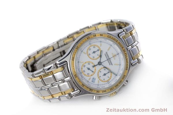 Used luxury watch Jaeger Le Coultre Heraion chronograph steel / gold quartz Kal. 630 Ref. 115.5.31  | 153358 03