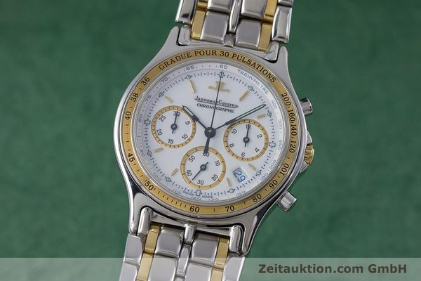 JAEGER LE COULTRE HERAION CHRONOGRAPHE ACIER / OR QUARTZ KAL. 630 [153358]