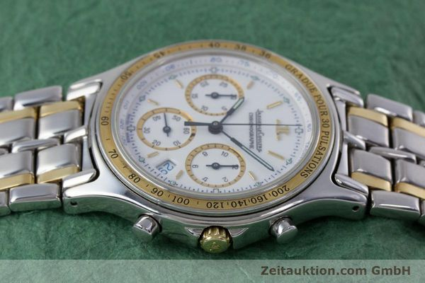 Used luxury watch Jaeger Le Coultre Heraion chronograph steel / gold quartz Kal. 630 Ref. 115.5.31  | 153358 05
