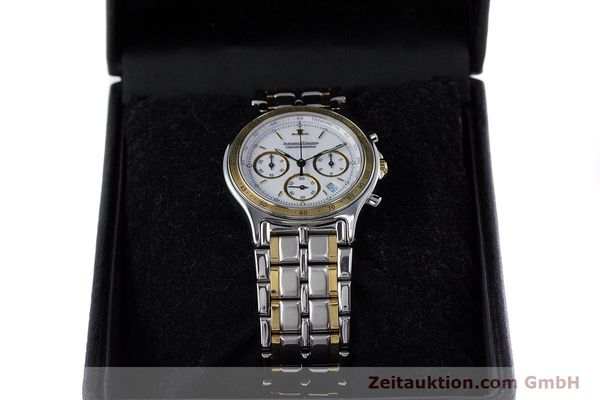 Used luxury watch Jaeger Le Coultre Heraion chronograph steel / gold quartz Kal. 630 Ref. 115.5.31  | 153358 07