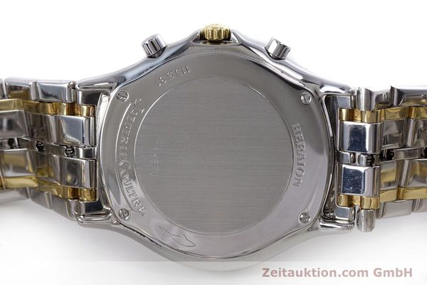 Used luxury watch Jaeger Le Coultre Heraion chronograph steel / gold quartz Kal. 630 Ref. 115.5.31  | 153358 09