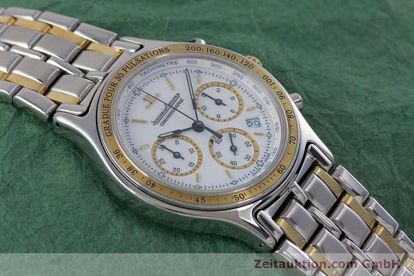Used luxury watch Jaeger Le Coultre Heraion chronograph steel / gold quartz Kal. 630 Ref. 115.5.31  | 153358 13