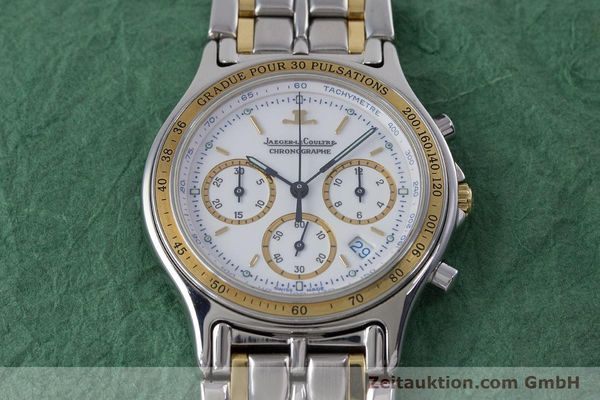 Used luxury watch Jaeger Le Coultre Heraion chronograph steel / gold quartz Kal. 630 Ref. 115.5.31  | 153358 14
