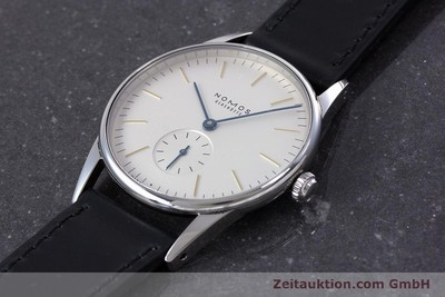 NOMOS ORION STEEL MANUAL WINDING KAL. ALPHA LP: 1400EUR [153363]