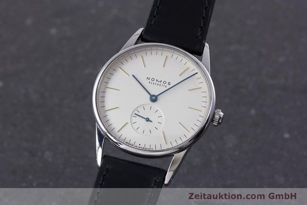 NOMOS ORION ACERO CUERDA MANUAL KAL. ALPHA LP: 1400EUR  [153363]
