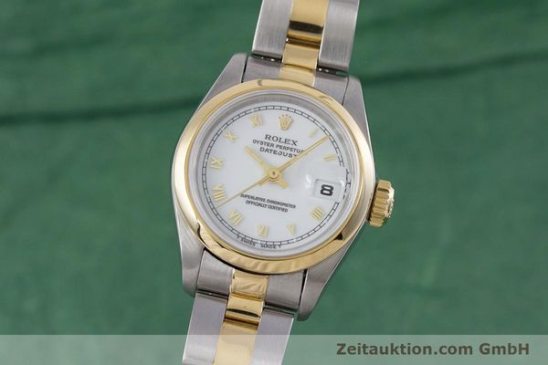 ROLEX LADY DATEJUST STEEL / GOLD AUTOMATIC KAL. 2135 LP: 6950EUR [153364]