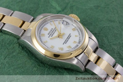 ROLEX LADY OYSTER DATEJUST GOLD /STAHL DAMENUHR AUTOMATIK 69163 VP: 6950,- EURO [153364]