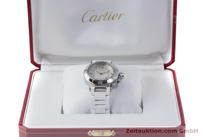 CARTIER PASHA STEEL QUARTZ KAL. 688 LP: 2400EUR [153365]