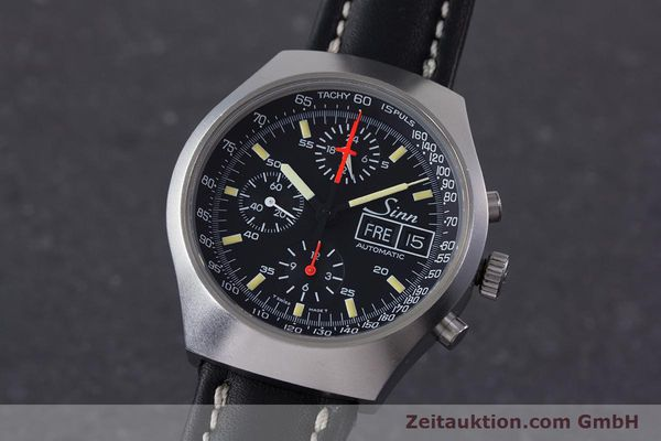 SINN 157 CHRONOGRAPH STEEL AUTOMATIC KAL. 5100 LEMANIA LP: 3370EUR [153368]