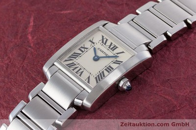 CARTIER TANK STEEL QUARTZ KAL. 057 LP: 4050EUR [153370]