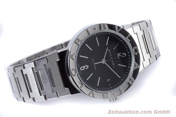 Used luxury watch Bvlgari Bvlgari steel automatic Kal. TEEM 220 Ref. BB38SS AUTO  | 153377 03