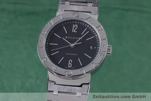 Used luxury watch Bvlgari Bvlgari steel automatic Kal. TEEM 220 Ref. BB38SS AUTO  | 153377 04