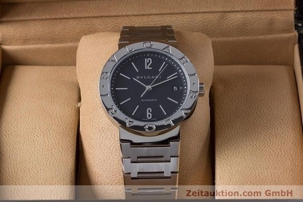 Used luxury watch Bvlgari Bvlgari steel automatic Kal. TEEM 220 Ref. BB38SS AUTO  | 153377 07