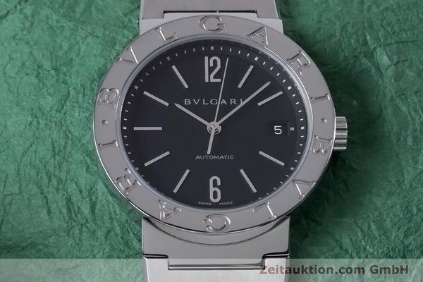 Used luxury watch Bvlgari Bvlgari steel automatic Kal. TEEM 220 Ref. BB38SS AUTO  | 153377 16
