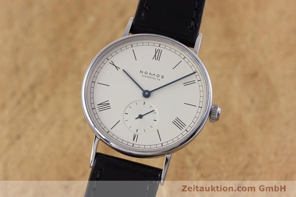 NOMOS LUDWIG STEEL MANUAL WINDING KAL. ETA 7001 LP: 1460EUR [153378]