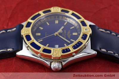 BREITLING LADY J CLASS STAHL / GOLD DAMENUHR TOP D52064 VP: 2290,- EURO [153386]