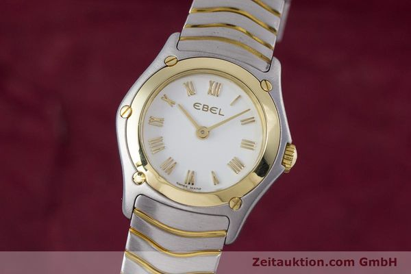 EBEL CLASSIC WAVE STEEL / GOLD QUARTZ KAL. 157 LP: 2850EUR [153391]