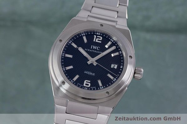 IWC INGENIEUR STEEL AUTOMATIC KAL. 80110 LP: 5900EUR [153398]