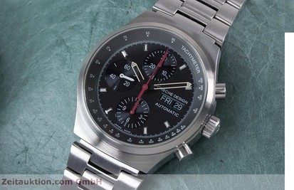 PORSCHE DESIGN BY ETERNA DAY DATE CHRONOGRAPH STAHL 6625 VP: 4300,- EURO [153416]