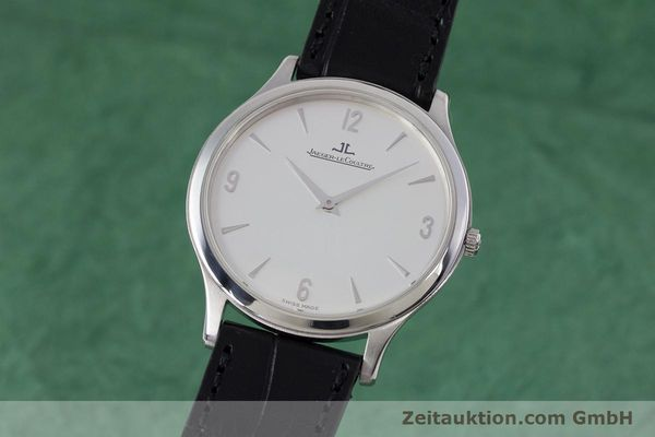 JAEGER LE COULTRE MASTER ULTRA THIN PLATINO CUERDA MANUAL KAL. 839  [153433]