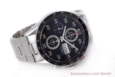 TAG HEUER CARRERA CHRONOGRAPH STEEL AUTOMATIC KAL. 16 LP: 4650EUR [153434]