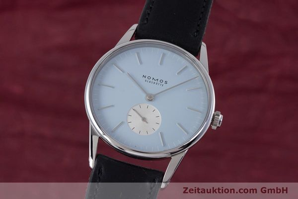 NOMOS ORION ACERO CUERDA MANUAL KAL. ALPHA LP: 1740EUR [153451]