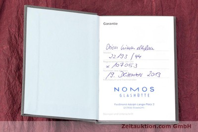 NOMOS GLASHÜTTE ORION ORIGINAL