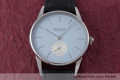 NOMOS ORION STEEL MANUAL WINDING KAL. ALPHA LP: 1740EUR [153451]