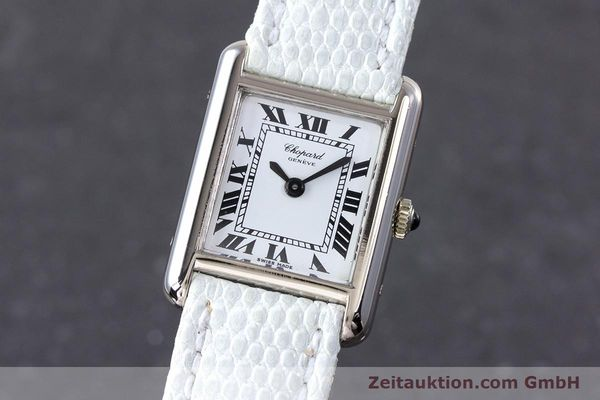 CHOPARD 18 CT WHITE GOLD MANUAL WINDING KAL. ETA 2512 LP: 8540EUR [153454]