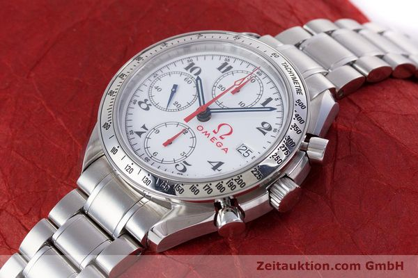 Used luxury watch Omega Speedmaster chronograph steel automatic Kal. 1152 Ref. 35132000  | 153457 01
