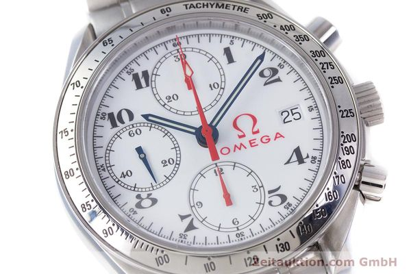 Used luxury watch Omega Speedmaster chronograph steel automatic Kal. 1152 Ref. 35132000  | 153457 02