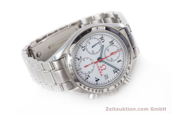 Used luxury watch Omega Speedmaster chronograph steel automatic Kal. 1152 Ref. 35132000  | 153457 03
