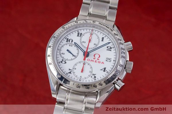 Used luxury watch Omega Speedmaster chronograph steel automatic Kal. 1152 Ref. 35132000  | 153457 04