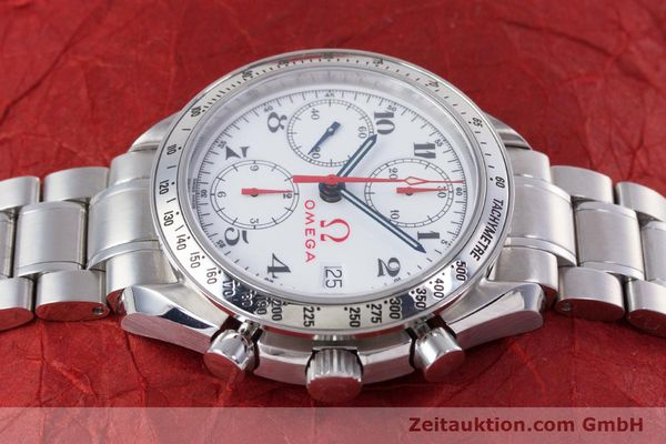 Used luxury watch Omega Speedmaster chronograph steel automatic Kal. 1152 Ref. 35132000  | 153457 05