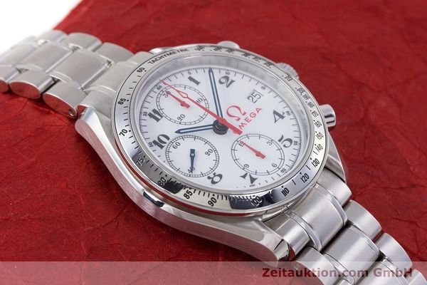 Used luxury watch Omega Speedmaster chronograph steel automatic Kal. 1152 Ref. 35132000  | 153457 16