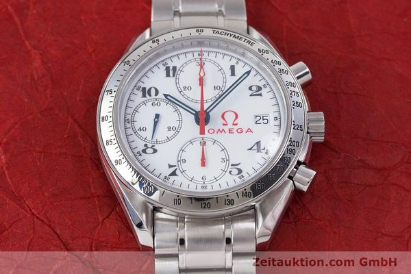 Used luxury watch Omega Speedmaster chronograph steel automatic Kal. 1152 Ref. 35132000  | 153457 17