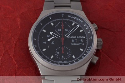 NEU - PORSCHE DESIGN BY ETERNA DAY DATE CHRONOGRAPH TITAN HERREN 6625 VP: 4300,- [153460]