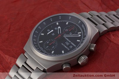 NEU - PORSCHE DESIGN BY ETERNA DAY DATE CHRONOGRAPH TITAN HERREN 6625 VP: 4300,- [153461]
