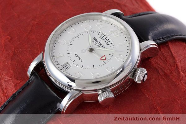 Used luxury watch Montblanc Meisterstück steel automatic Kal. 4810904 Ref. 7026  | 153469 01