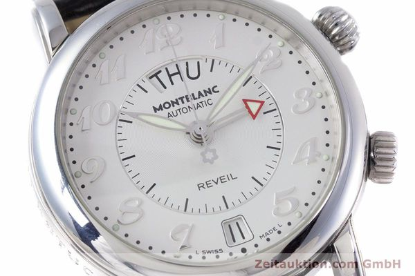 Used luxury watch Montblanc Meisterstück steel automatic Kal. 4810904 Ref. 7026  | 153469 02