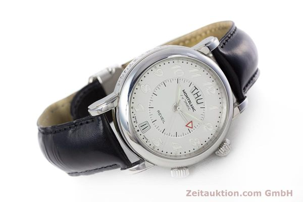 Used luxury watch Montblanc Meisterstück steel automatic Kal. 4810904 Ref. 7026  | 153469 03
