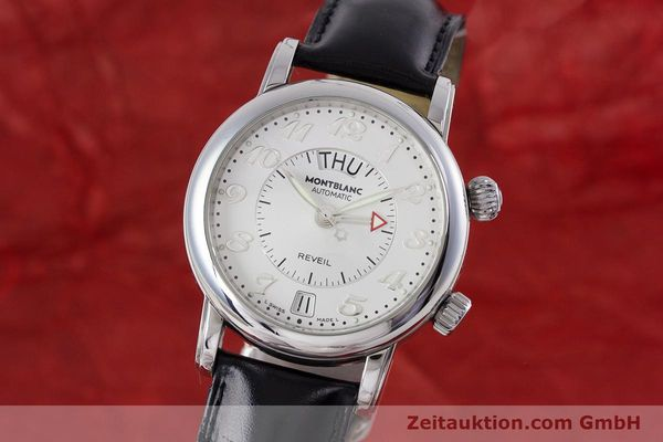 Used luxury watch Montblanc Meisterstück steel automatic Kal. 4810904 Ref. 7026  | 153469 04